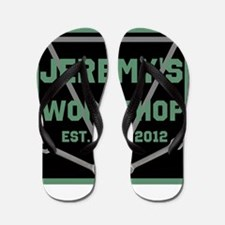 Personalized Workshop Flip Flops