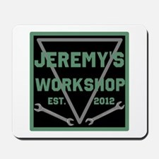 Personalized Workshop Mousepad