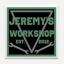 Personalized Workshop Tile Coaster