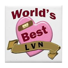Cute Lvn Tile Coaster
