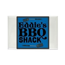 Personalized BBQ Rectangle Magnet