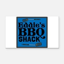 Personalized BBQ Rectangle Car Magnet