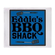 Personalized BBQ Throw Blanket