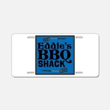 Personalized BBQ Aluminum License Plate