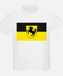 Stuttgart Flag Kids T-Shirt