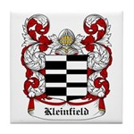 Kleinfield Coat of Arms Tile Coaster