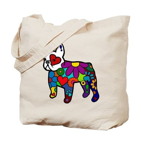 Frenchie Power Tote Bag
