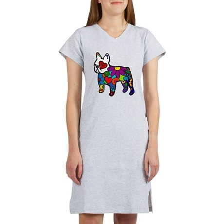 Frenchie Power Women's Nightshirt