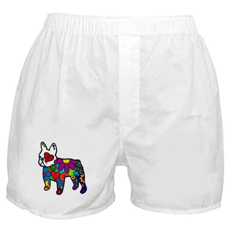 Frenchie Power Boxer Shorts