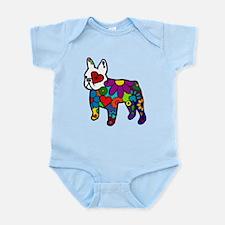 Frenchie Power Infant Bodysuit