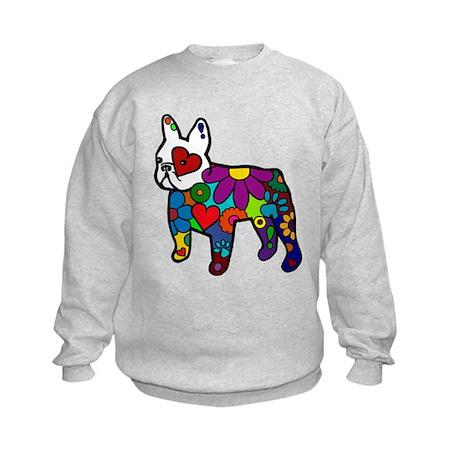 Frenchie Power Kids Sweatshirt