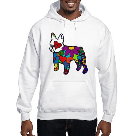 Frenchie Power Hooded Sweatshirt