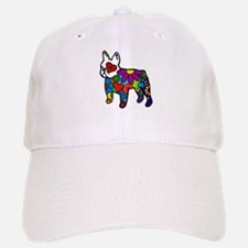 Frenchie Power Baseball Baseball Cap