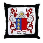 Kierdej Coat of Arms Throw Pillow