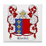 Kierdej Coat of Arms Tile Coaster