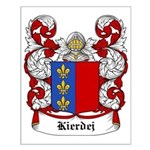 Kierdej Coat of Arms Small Poster