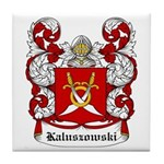 Kaluszowski Coat of Arms Tile Coaster