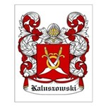 Kaluszowski Coat of Arms Small Poster