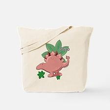 little stegosaurus Tote Bag