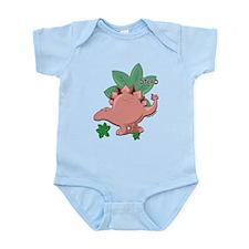 little stegosaurus Infant Bodysuit