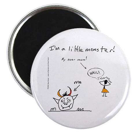 "Little Monster (Mum Wails) 2.25"" Magnet (10 pack)"