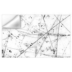 Neutrino particle interaction event Wall Decal