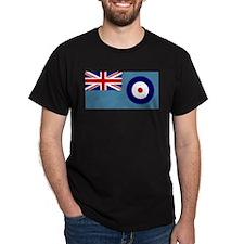 UK's RAF Flag Shoppe Black T-Shirt