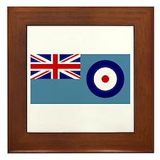 UK's RAF Flag Shoppe Framed Tile