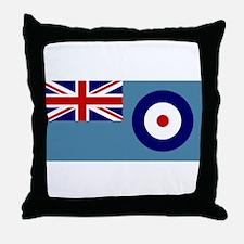 UK's RAF Flag Shoppe Throw Pillow