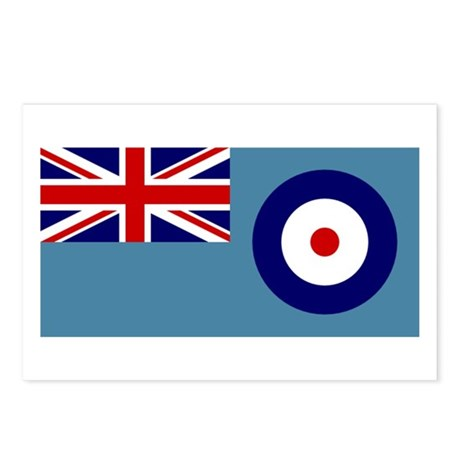 UK's RAF Flag Shoppe Postcards (Package of 8)