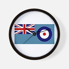 UK's RAF Flag Shoppe Wall Clock