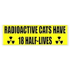 Radioactive Cats Bumper Sticker