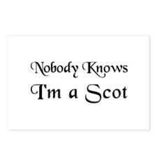 The Scot's Postcards (Package of 8)