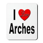 I Love Arches Mousepad