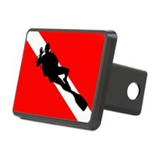 Scuba Flag Diver Hitch Cover