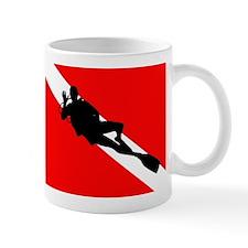 Scuba Flag Diver Mug