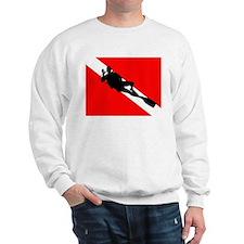 Scuba Flag Diver Sweatshirt