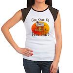 Jail Women's Cap Sleeve T-Shirt