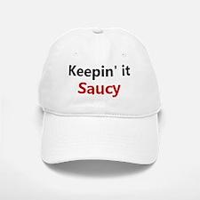 Saucy Chef Baseball Baseball Cap