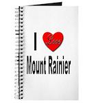 I Love Mount Rainier Journal