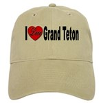 I Love Grand Teton Cap