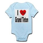 I Love Grand Teton Infant Creeper