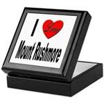 I Love Mount Rushmore Keepsake Box