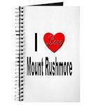 I Love Mount Rushmore Journal