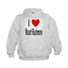 I Love Mount Rushmore Hoodie