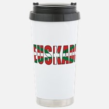 Basque Stainless Steel Travel Mug