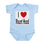I Love Mount Hood Infant Creeper