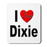 I Love Dixie Mousepad