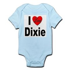 I Love Dixie Infant Creeper