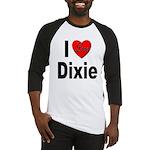 I Love Dixie Baseball Jersey